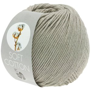 Lana Grossa SOFT COTTON | 04-gråbeige