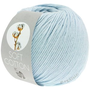Lana Grossa SOFT COTTON | 08-lys blå