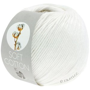 Lana Grossa SOFT COTTON | 10-hvit