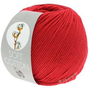 Lana Grossa SOFT COTTON | 13-rød