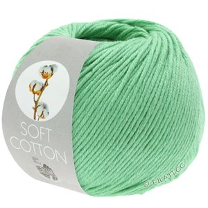 Lana Grossa SOFT COTTON | 23-lys grønn