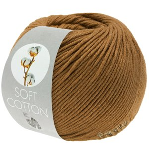 Lana Grossa SOFT COTTON | 33-nøttebrun